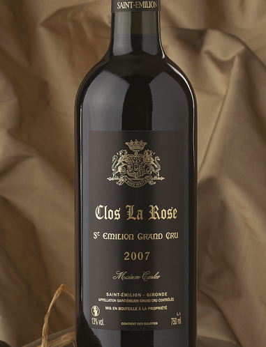 Clos La Rose 2007, AOC Saint Emilion Grand Cru